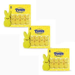 Peeps Yellow Marshmallow Bunnies