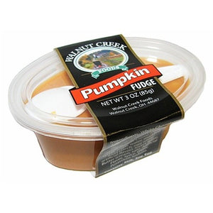 Walnut Creek Pumpkin Fudge Cup 3 oz.