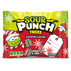 Sour Punch Trees Gummi Candy - 2.5 oz.