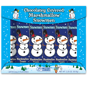 Melster Chocolate Covered Marshmallow Snowmen