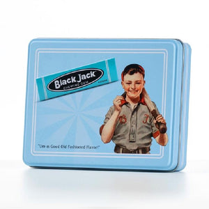 Black Jack Chewing Gum Collector Tin - 4.13 oz.