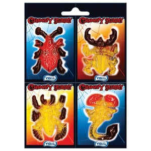Creepy Gummi Insect Candy 4-Pack