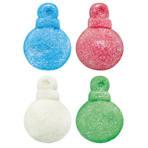 Glitter Ornaments Gummi Candy - 2.2 LB Bulk Bag