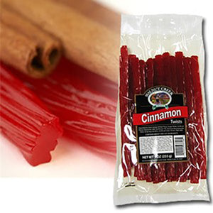 Walnut Creek Cinnamon Licorice Twists - 8-oz. Bag