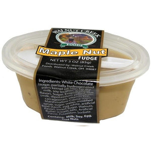 Walnut Creek Maple Nut Fudge Cup 3 oz.