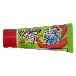 WarHeads Sour Watermelon Squeeze Candy - 2.25 oz.