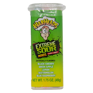 WarHeads Mini Extreme Sour Hard Candy - 1.75 oz. Pack