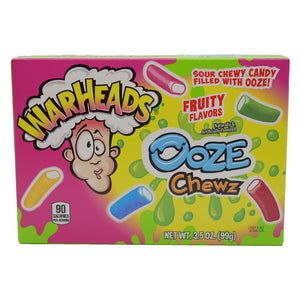 Warheads Ooze Chewz - 3.5-oz. Theater Box