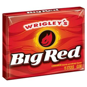 Big Red Cinnamon Gum - 15-Stick Pack