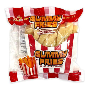 Albert's Gummy Fries Gummi Candy 7.05 oz.