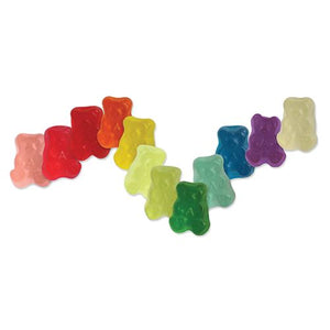 All City Candy 12 Flavor Gummi Bear Cubs - 5 LB Bulk Bag Bulk Unwrapped Albanese Confectionery For fresh candy and great service, visit www.allcitycandy.com