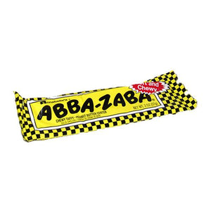 All City Candy Abba-Zaba Chewy Taffy Candy Bar 2 oz. Candy Bars Annabelle's 1 Bar For fresh candy and great service, visit www.allcitycandy.com