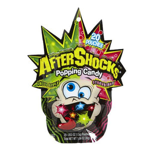 All City Candy AfterShocks Popping Candy - 1.06-oz. Bag Novelty The Foreign Candy Company Inc. For fresh candy and great service, visit www.allcitycandy.com