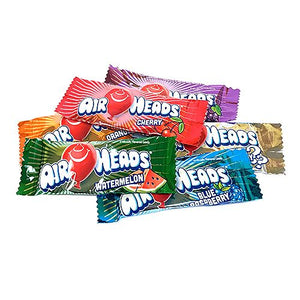 All City Candy Airheads Assorted Mini Taffy Bars - 3 LB Bulk Bag Bulk Wrapped Perfetti Van Melle For fresh candy and great service, visit www.allcitycandy.com