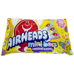All City Candy Airheads Easter Mini Bars Assorted Flavors - 12-oz. Bag Easter Perfetti Van Melle For fresh candy and great service, visit www.allcitycandy.com