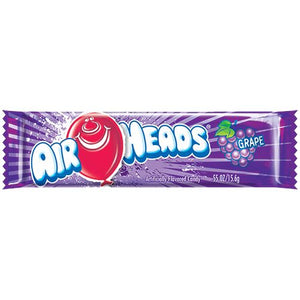 All City Candy Airheads Grape Taffy Bar .55-oz. - Case of 36 Taffy Perfetti Van Melle For fresh candy and great service, visit www.allcitycandy.com