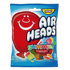 All City Candy Airheads Gummies Original Fruit Gummi Candy - 3.8-oz. Bag Gummi Perfetti Van Melle For fresh candy and great service, visit www.allcitycandy.com