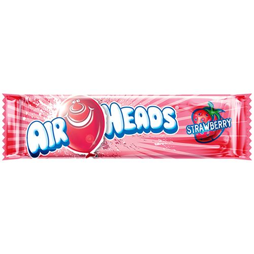 Airheads Strawberry Taffy Bar .55-oz. - 36 Piece Case For fresh candy and great service, visit us at www.allcitycandy.com