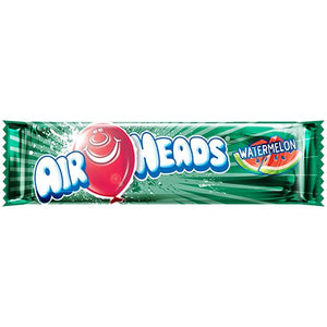 All City Candy Airheads Watermelon Taffy Bar .55-oz. - 36 Piece Case Taffy Perfetti Van Melle For fresh candy and great service, visit www.allcitycandy.com