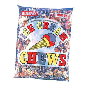 All City Candy Albert's Ice Cream Chews Candy - 240 Piece Bag Chewy Albert's Candy Default Title For fresh candy and great service, visit www.allcitycandy.com