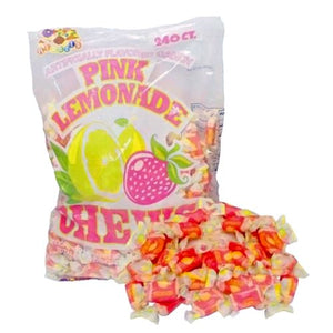 All City Candy Albert's Pink Lemonade Chews Candy - 240 Piece Bag Chewy Albert's Candy Default Title For fresh candy and great service, visit www.allcitycandy.com