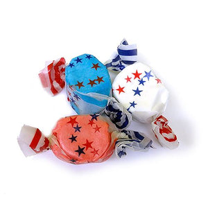 All City Candy All American Red White & Blue Salt Water Taffy - 3 LB Bulk Bag Bulk Wrapped Sweet Candy Company For fresh candy and great service, visit www.allcitycandy.com