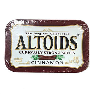 All City Candy Altoids Cinnamon Mints - 1.76-oz. Tin Mints Wrigley For fresh candy and great service, visit www.allcitycandy.com