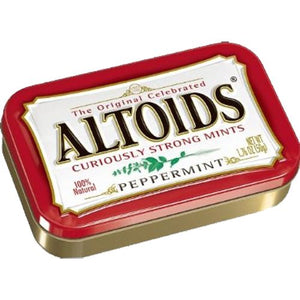 All City Candy Altoids Mints Peppermint - 1.76-oz. Tin Mints Wrigley 1 Tin For fresh candy and great service, visit www.allcitycandy.com