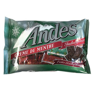 All City Candy Andes Christmas Creme de Menthe Mint Thins - 9.5-oz. Bag Christmas Charms Candy (Tootsie) For fresh candy and great service, visit www.allcitycandy.com