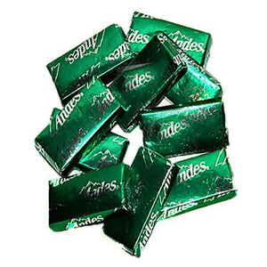 All City Candy Andes Creme de Menthe Thins - 3 LB Bulk Bag Bulk Wrapped Charms Candy (Tootsie) Default Title For fresh candy and great service, visit www.allcitycandy.com