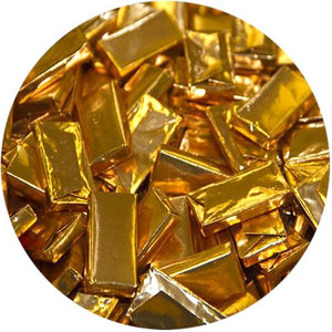 All City Candy Andes Gold Foil Creme De Menthe Thins in Bulk Bulk Wrapped Charms Candy (Tootsie) 20 LB Case For fresh candy and great service, visit www.allcitycandy.com