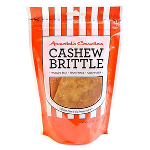 All City Candy Arnold's Candies Cashew Brittle - 6-oz. Bag Brittle Arnold's Candies For fresh candy and great service, visit www.allcitycandy.com