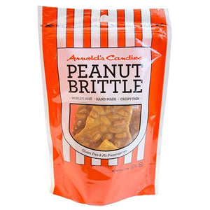 All City Candy Arnold's Candies Peanut Brittle - 6-oz. Bag Brittle Arnold's Candies For fresh candy and great service, visit www.allcitycandy.com
