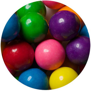 All City Candy Assorted Color 1-Inch Gumballs - 2 LB Bulk Bag Bulk Unwrapped SweetWorks Default Title For fresh candy and great service, visit www.allcitycandy.com