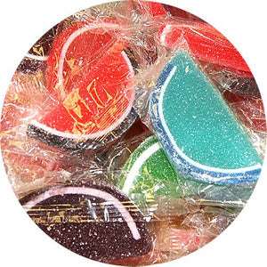 All City Candy Assorted Fruit Jelly Slices Bulk Wrapped Albanese Confectionery For fresh candy and great service, visit www.allcitycandy.com
