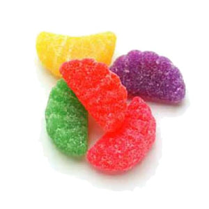 All City Candy Assorted Jelly Fruit Slices - 5 LB Bulk Bag Bulk Unwrapped Sweet Candy Company Default Title For fresh candy and great service, visit www.allcitycandy.com