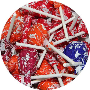 All City Candy Assorted Tootsie Pops - 3 LB Bulk Bag Bulk Wrapped Tootsie Roll Industries Default Title For fresh candy and great service, visit www.allcitycandy.com