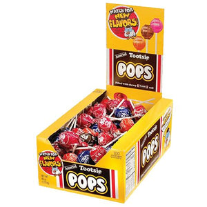 All City Candy Assorted Tootsie Pops - Case of 100 Lollipops & Suckers Tootsie Roll Industries For fresh candy and great service, visit www.allcitycandy.com