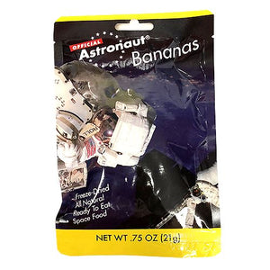 All City Candy Astronaut Freeze-Dried Bananas .75 oz. Novelty American Outdoor Products Inc. For fresh candy and great service, visit www.allcitycandy.com