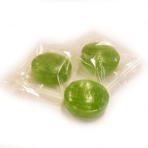 All City Candy Atkinson's Lime Buttons Hard Candy - 3 LB Bulk Bag Bulk Wrapped Atkinson's Candy For fresh candy and great service, visit www.allcitycandy.com