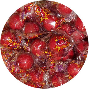 All City Candy Atomic FireBall Cinnamon Flavored Candy, Small - 3 LB Bulk Bag Bulk Wrapped Ferrara Candy Company Default Title For fresh candy and great service, visit www.allcitycandy.com
