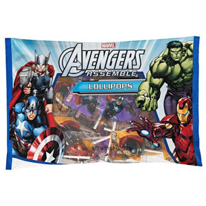 All City Candy Avengers Assemble Lollipops - 10.2 oz Bag Lollipops & Suckers Frankford Candy Default Title For fresh candy and great service, visit www.allcitycandy.com