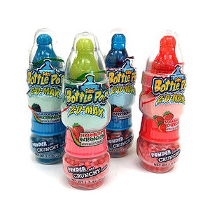All City Candy Baby Bottle Pop 2-D-Max Powder & Crunch Candy 1.3 oz. Novelty Bazooka Candy Brands 1 Piece For fresh candy and great service, visit www.allcitycandy.com