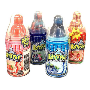 All City Candy Baby Bottle Pops Candy .85 oz. Lollipops & Suckers Topps 1 Piece For fresh candy and great service, visit www.allcitycandy.com