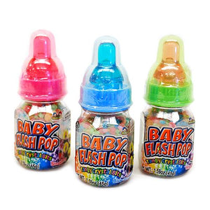 All City Candy Baby Flash Pop Tangy Crystal Bits - 1.59-oz. Bottle Novelty Kidsmania 1 Piece For fresh candy and great service, visit www.allcitycandy.com