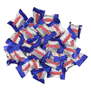 All City Candy Baby Ruth Mini Candy Bars - 3 LB Bulk Bag Bulk Wrapped Nestle Default Title For fresh candy and great service, visit www.allcitycandy.com