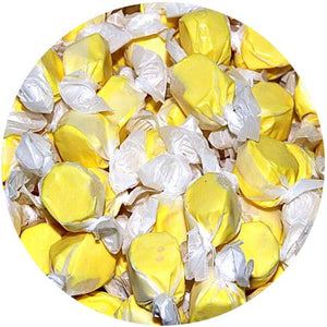 All City Candy Banana Salt Water Taffy - 3 LB Bulk Bag Bulk Wrapped Sweet Candy Company For fresh candy and great service, visit www.allcitycandy.com