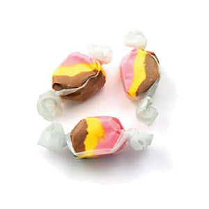 All City Candy Banana Split Salt Water Taffy - 3 LB Bulk Bag Bulk Wrapped Sweet Candy Company Default Title For fresh candy and great service, visit www.allcitycandy.com