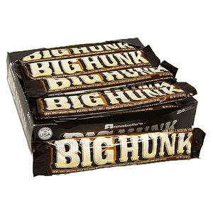 All City Candy Big Hunk Candy Bar 2 oz. Candy Bars Annabelle's Case of 24 For fresh candy and great service, visit www.allcitycandy.com