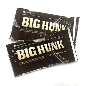 All City Candy Big Hunk Snack Size Candy Bars - 3 LB Bulk Bag Bulk Wrapped Annabelle's For fresh candy and great service, visit www.allcitycandy.com